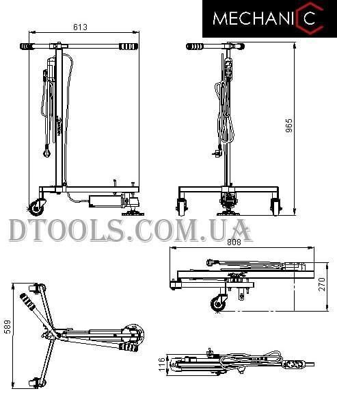 Шлифовальная стойка для УШМ Mechanic Comfy Grinder - 2