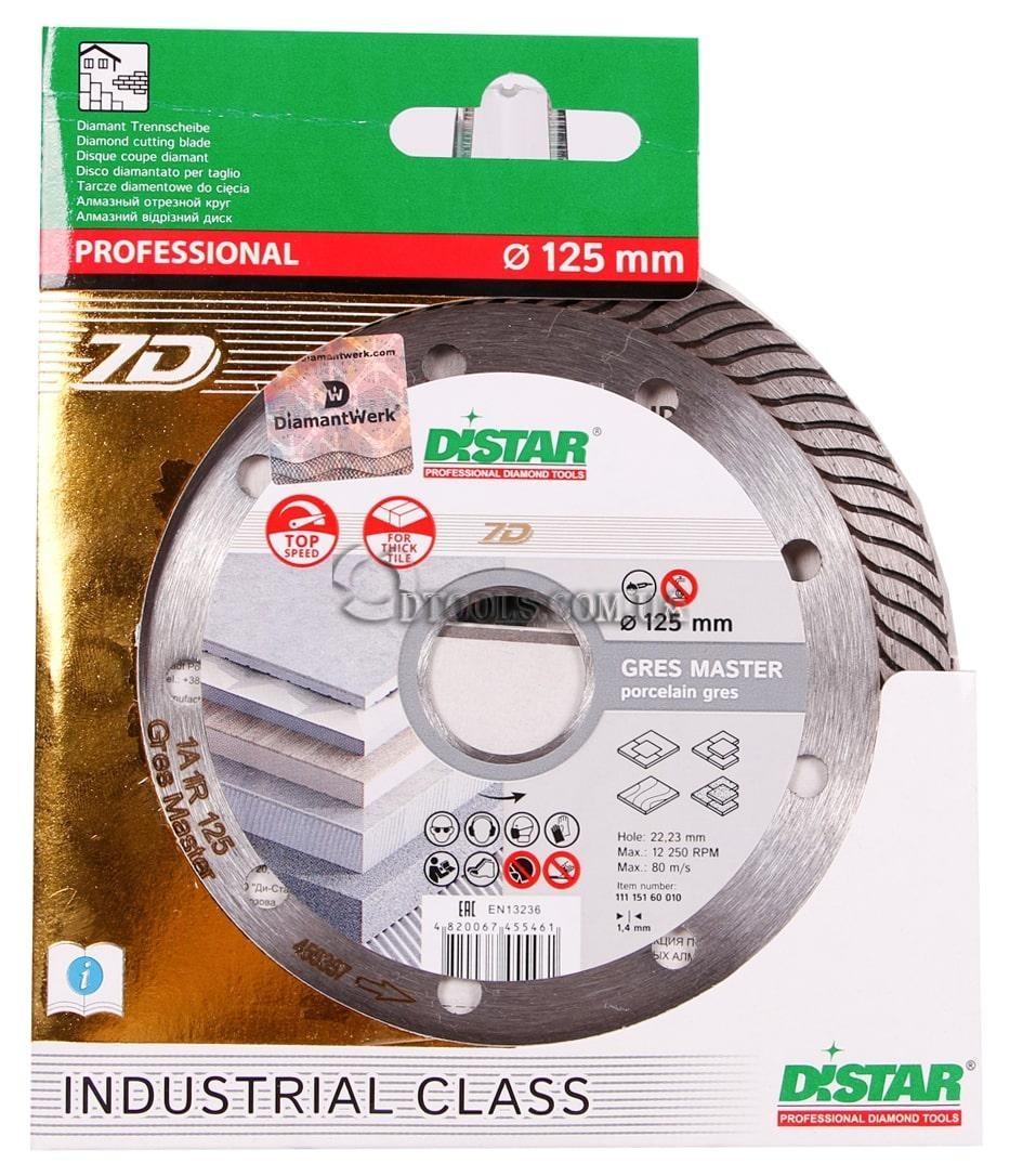 Круг алмазный Distar Gres Master 1A1R - 1