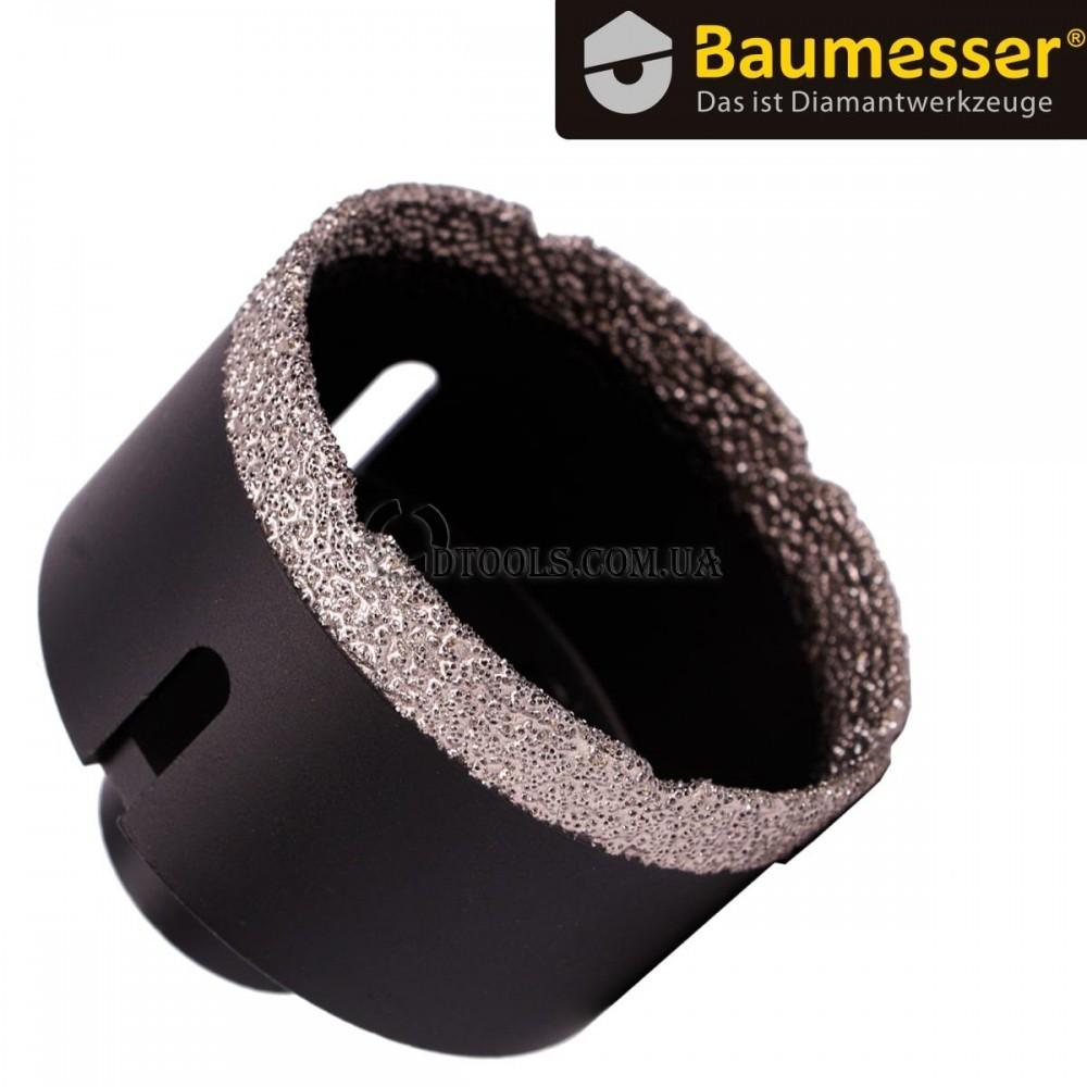 Вакуумные сверла по плитке Baumesser Keramik Pro на УШМ - 1