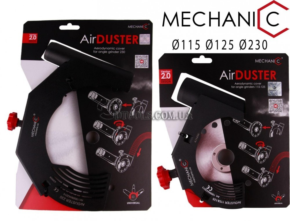 Защитный кожух для болгарки Mechanic Air Duster - 2